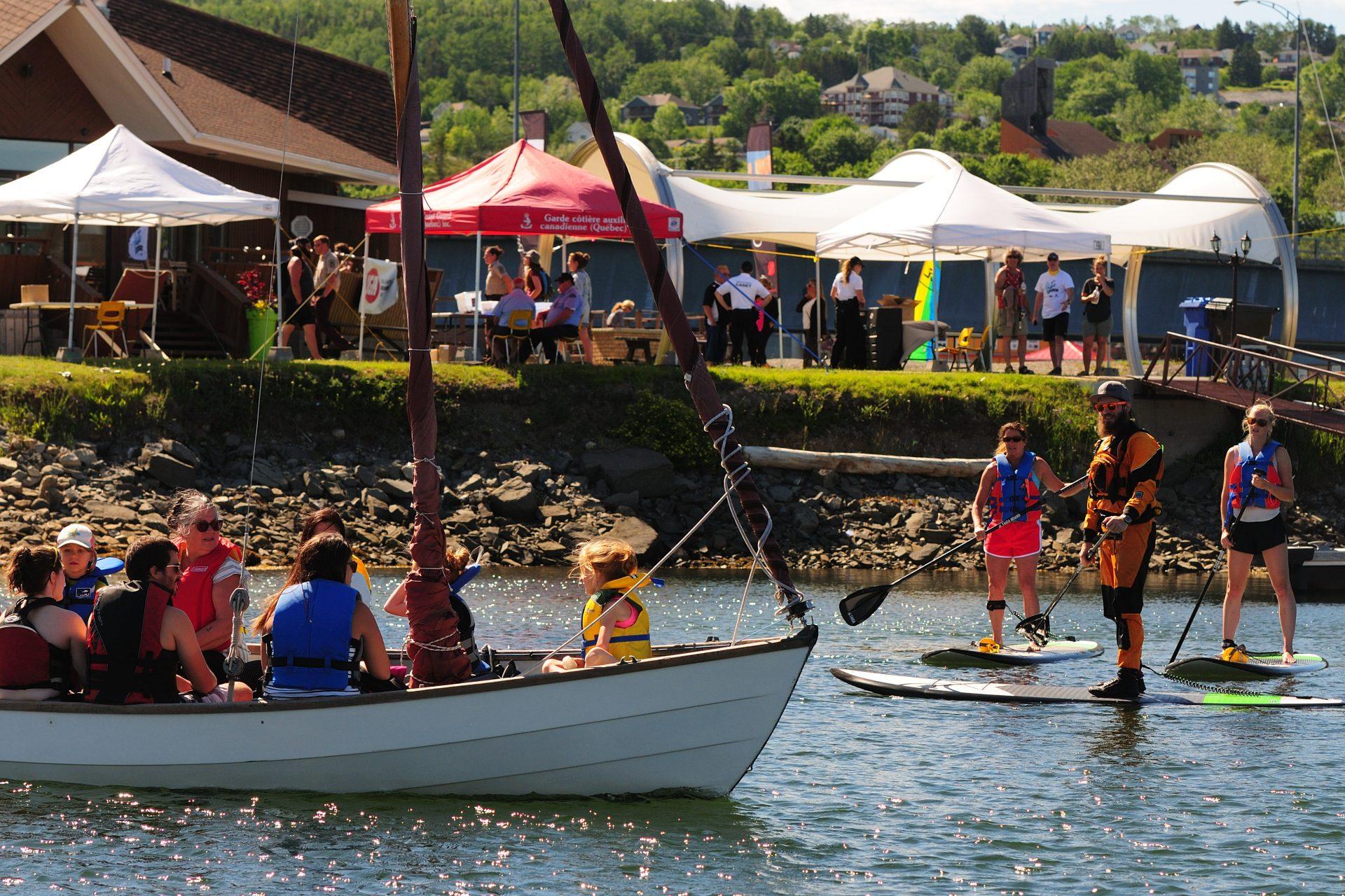 Marina et Club Nautique Jacques Cartier de Gaspé
