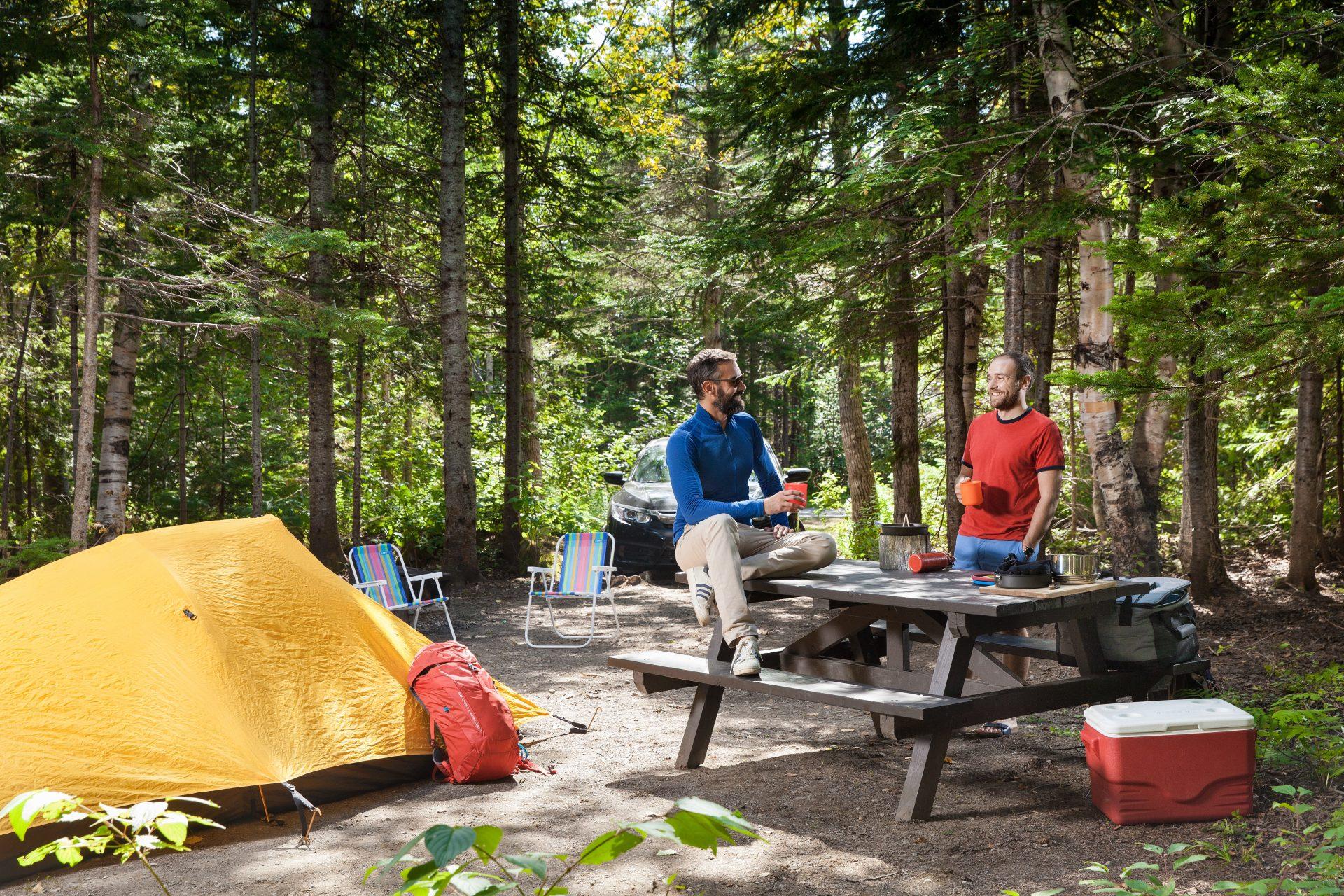Camping Des-Rosiers, parc Forillon