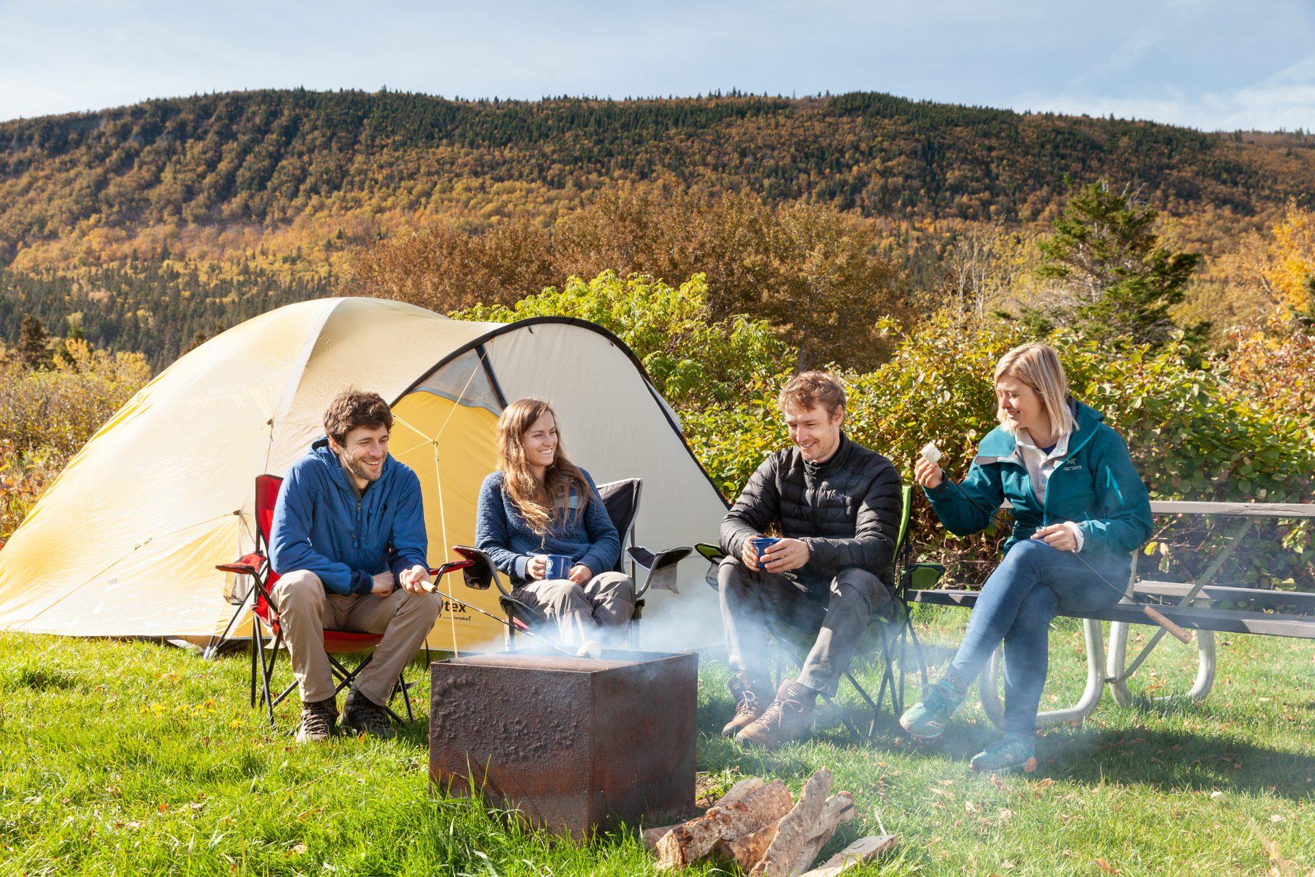 Camping Petit-Gaspé, parc Forillon