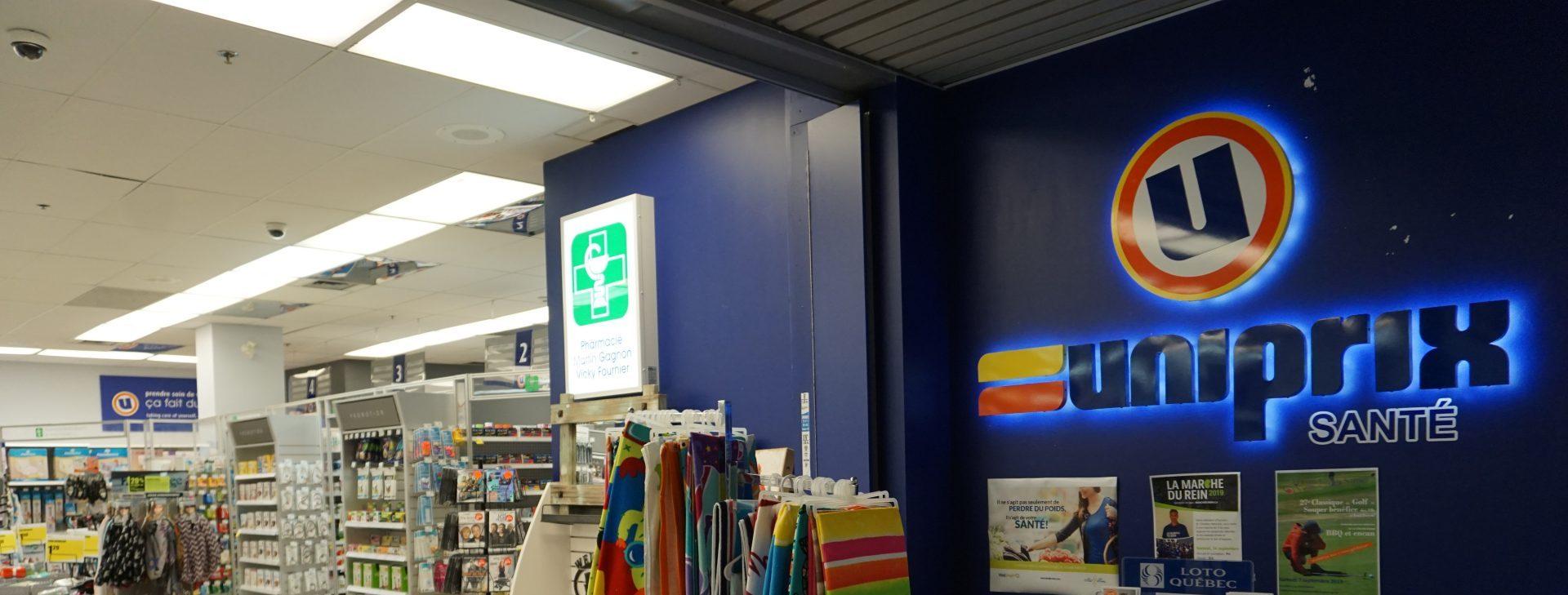 Pharmacie Uniprix Place Jacques Cartier