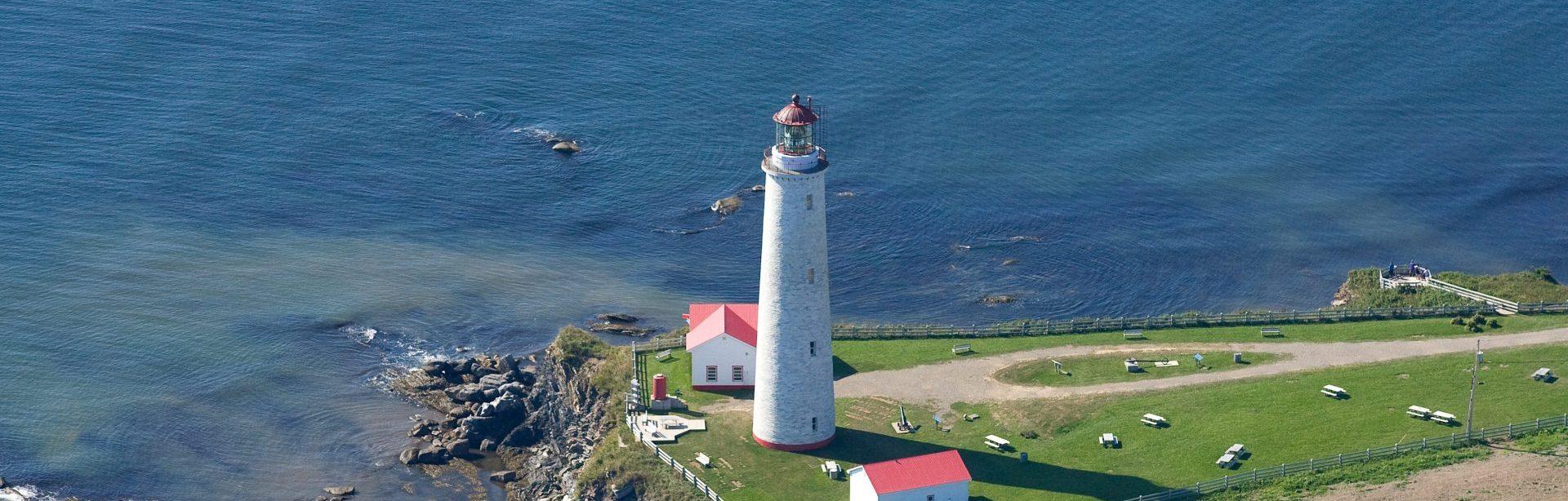 Gaspé et la route des phares du Québec