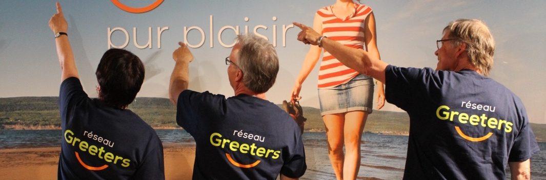 Félicitons notre équipe de Greeters!