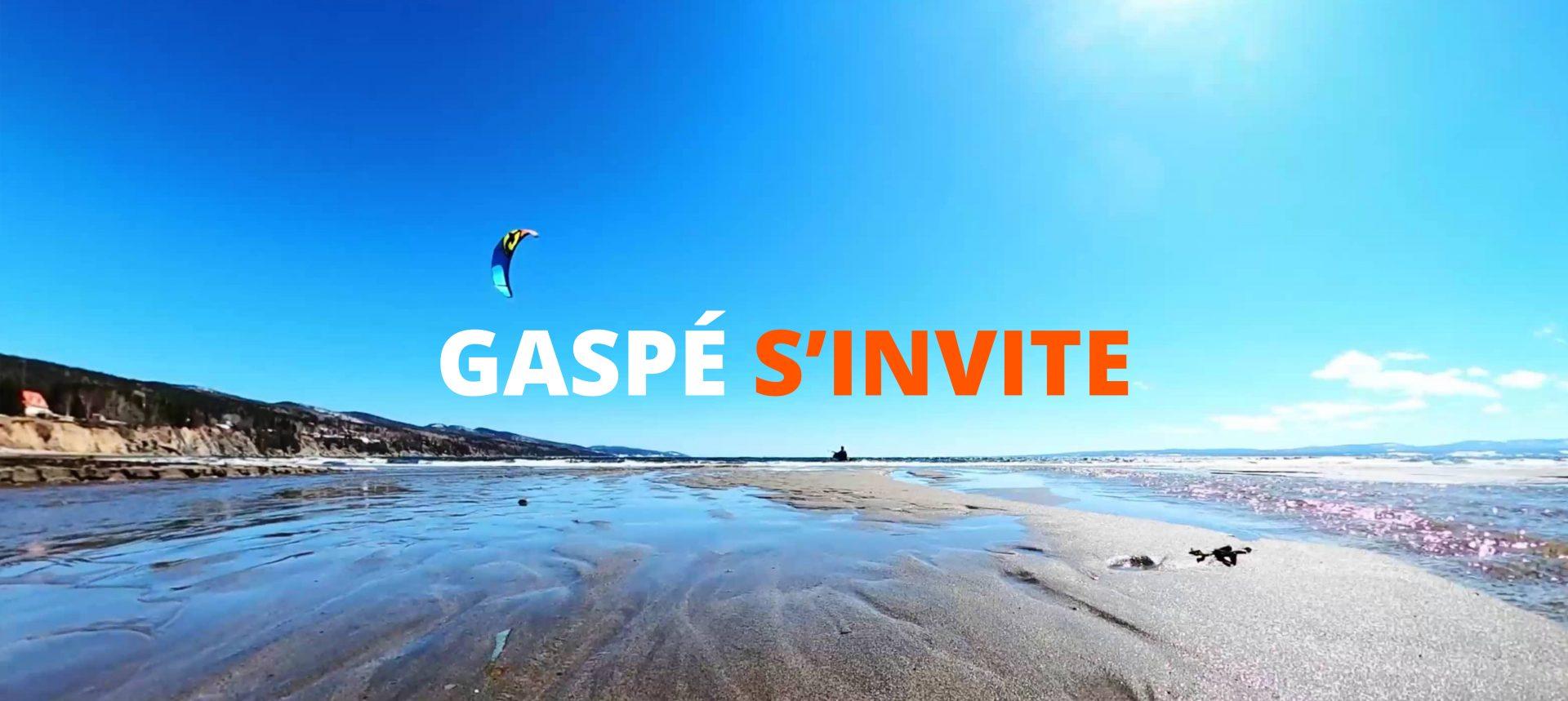 Gaspé s'invite : La plage dans votre salon