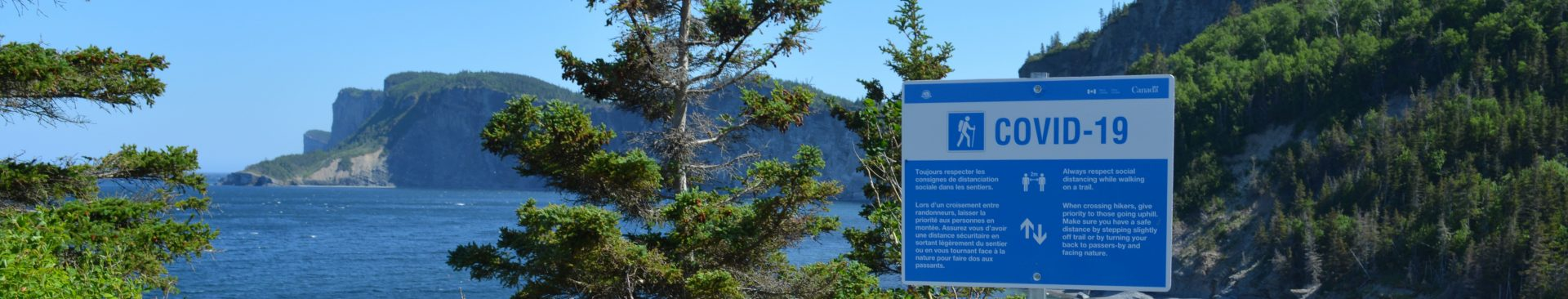 What is open and closed in Forillon National Park?